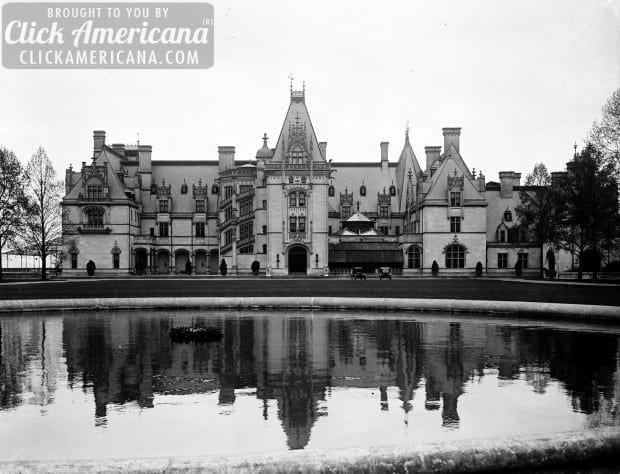 A castle in the clouds: The Vanderbilt Mansion, Biltmore (1895)