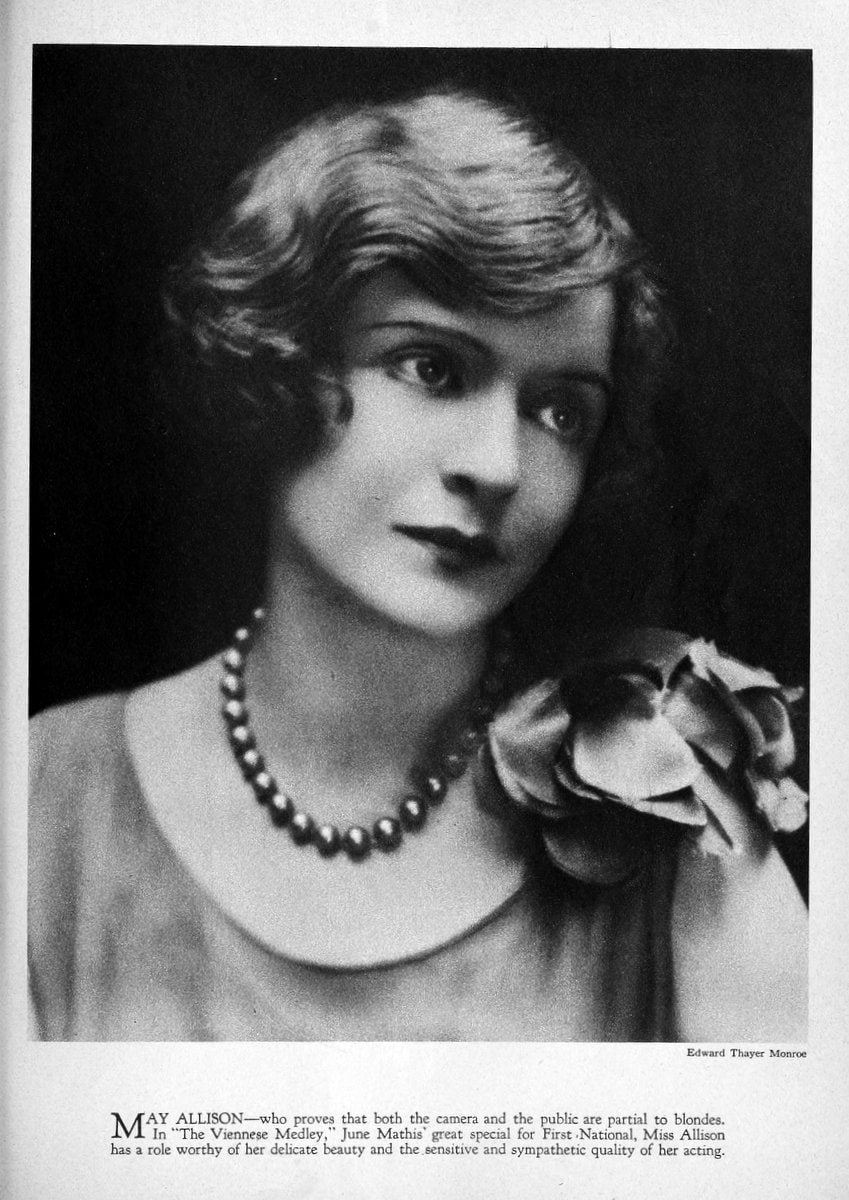 1925 May Allison