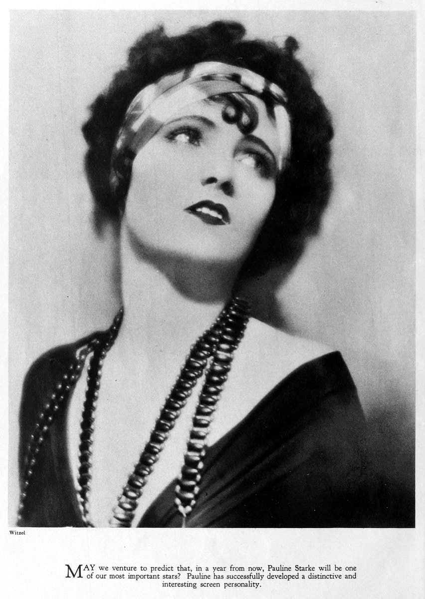 1925 Pauline Starke