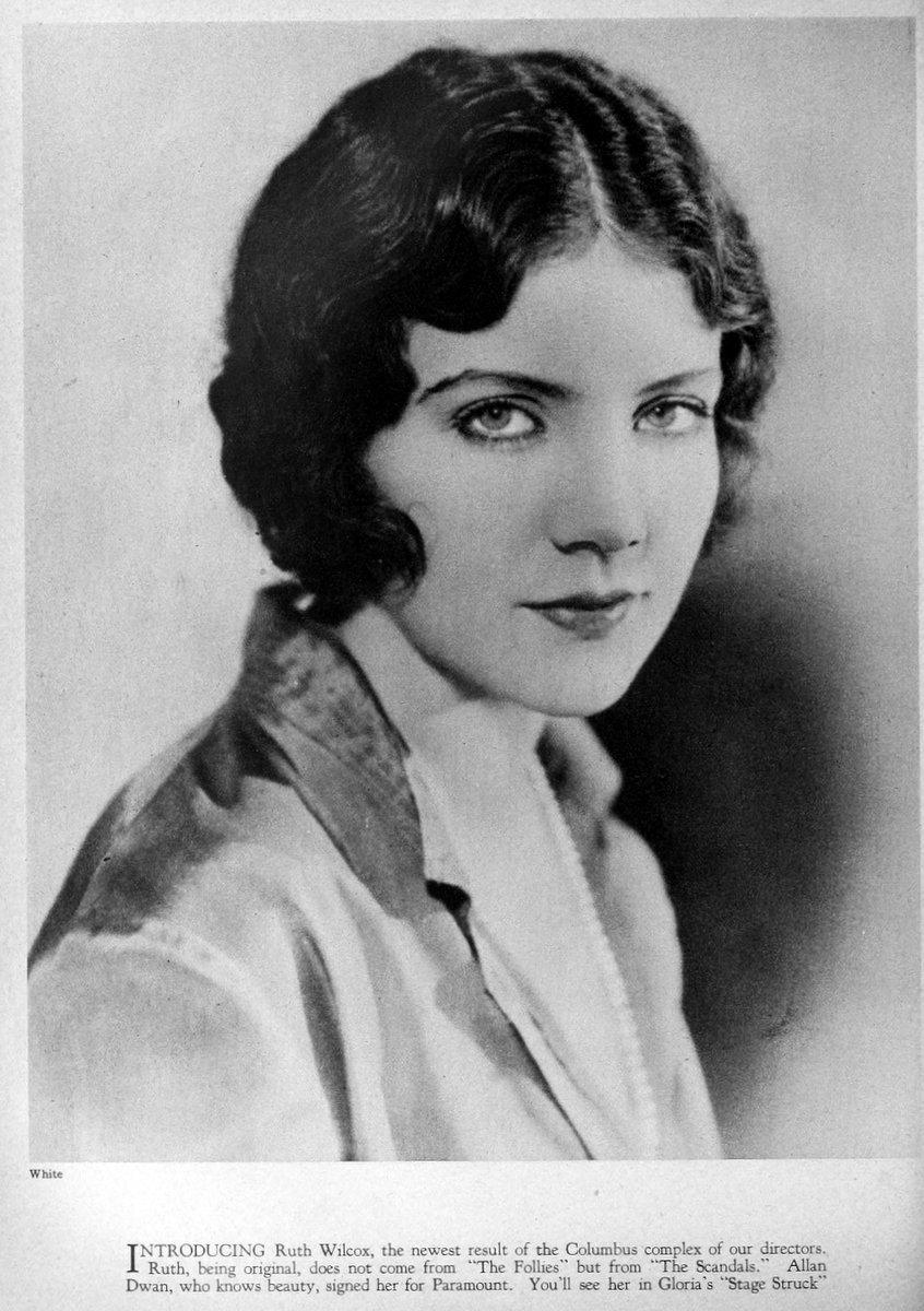 1925 Ruth Wilcox