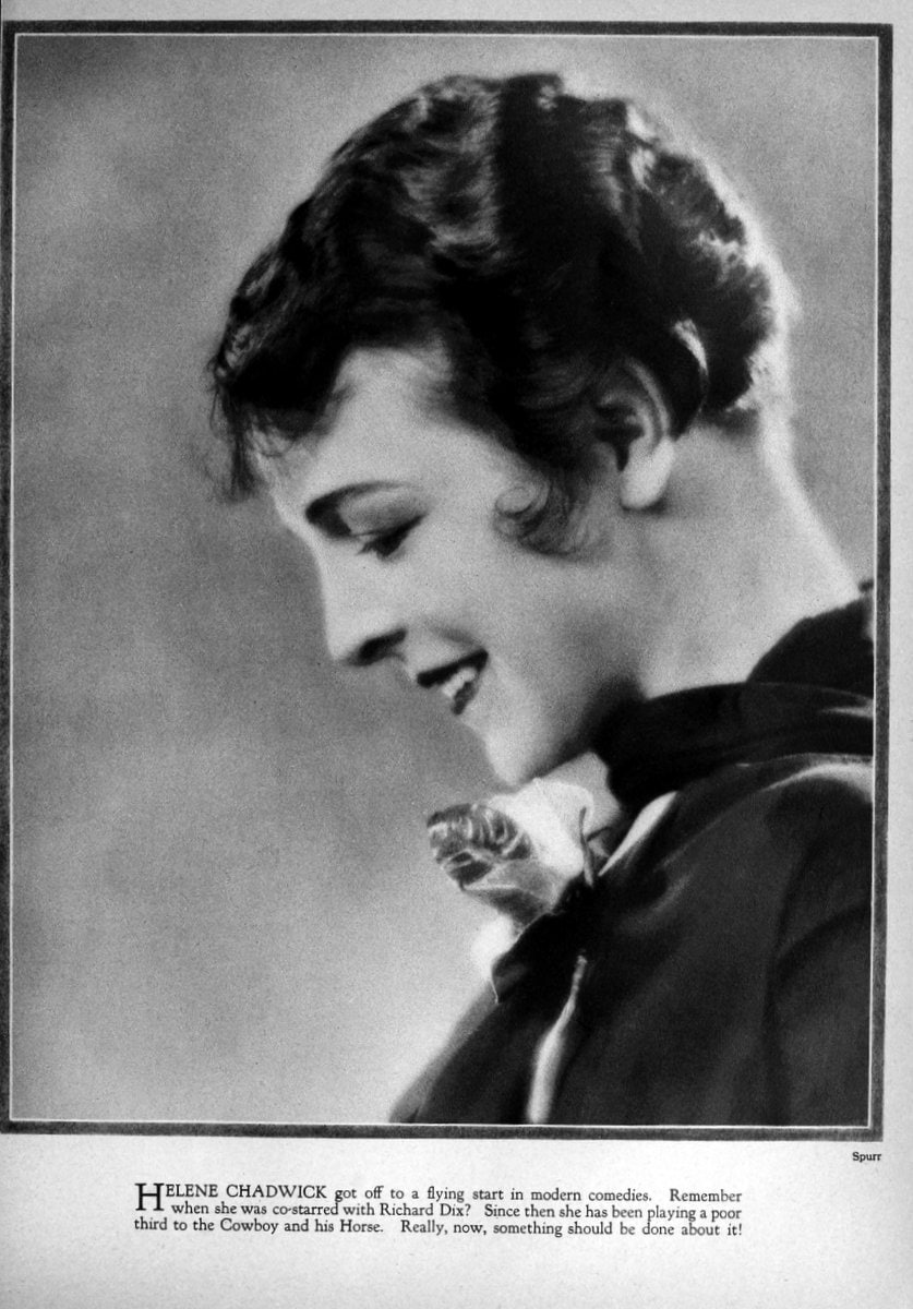1926 Helene Chadwick