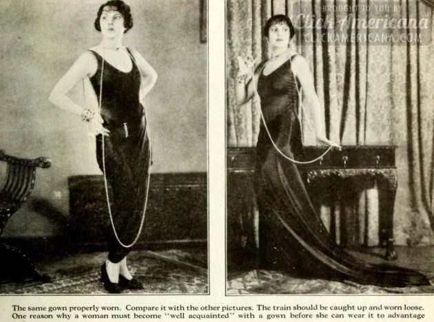 1926 - How to wear clothes correctly - fashion (1)