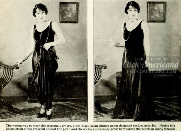 1926 - How to wear clothes correctly - fashion
