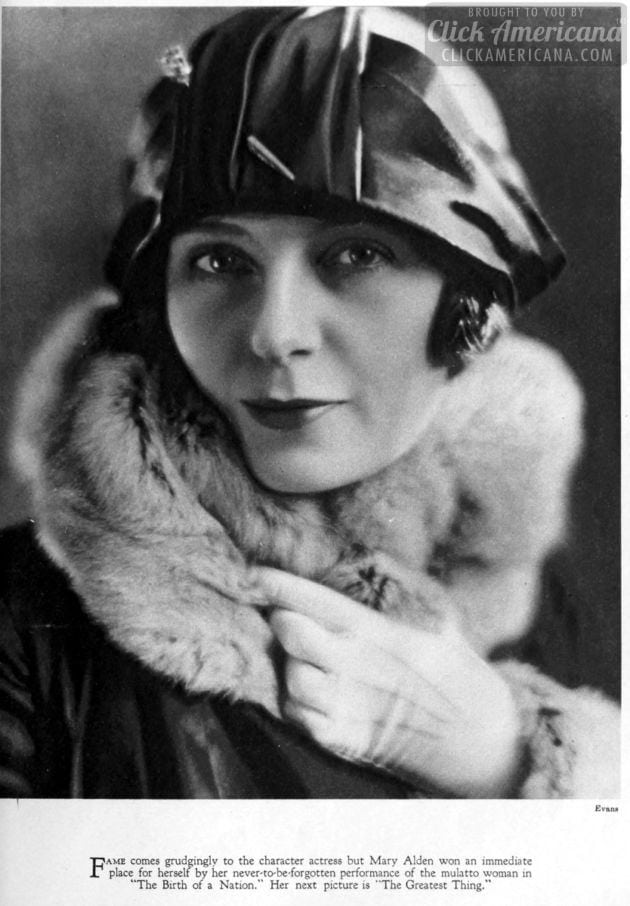 1926 - Mary Alden