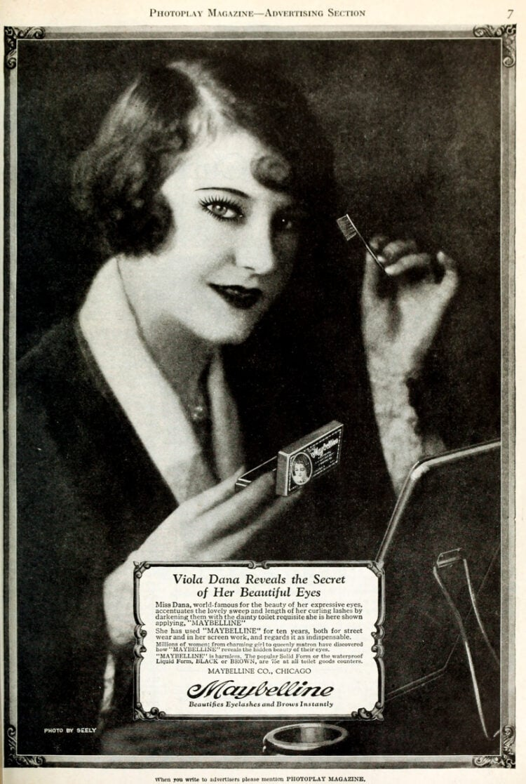 1926 Maybelline eye makeup - mascara