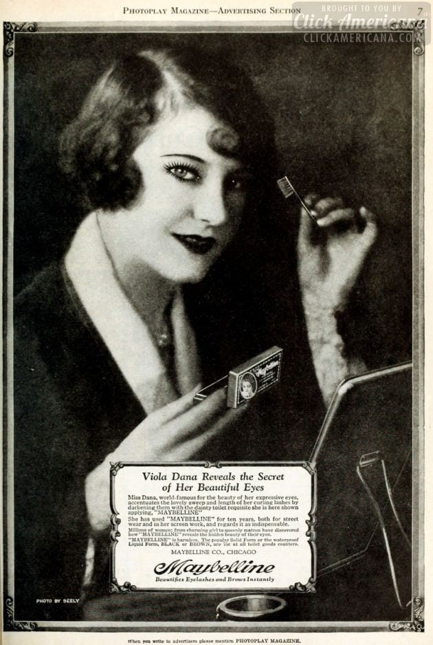 Vintage mascara from the 1920s