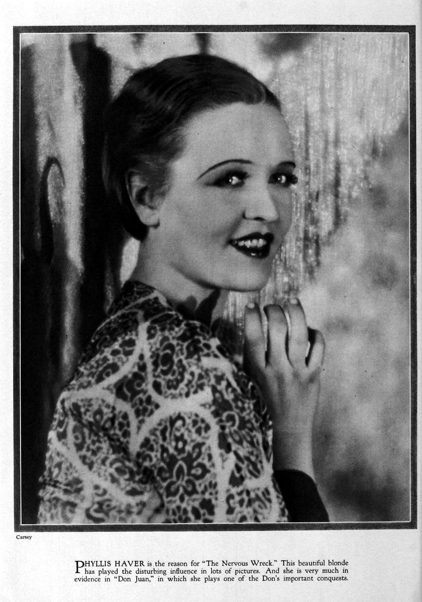 1926 Phyllis Haver