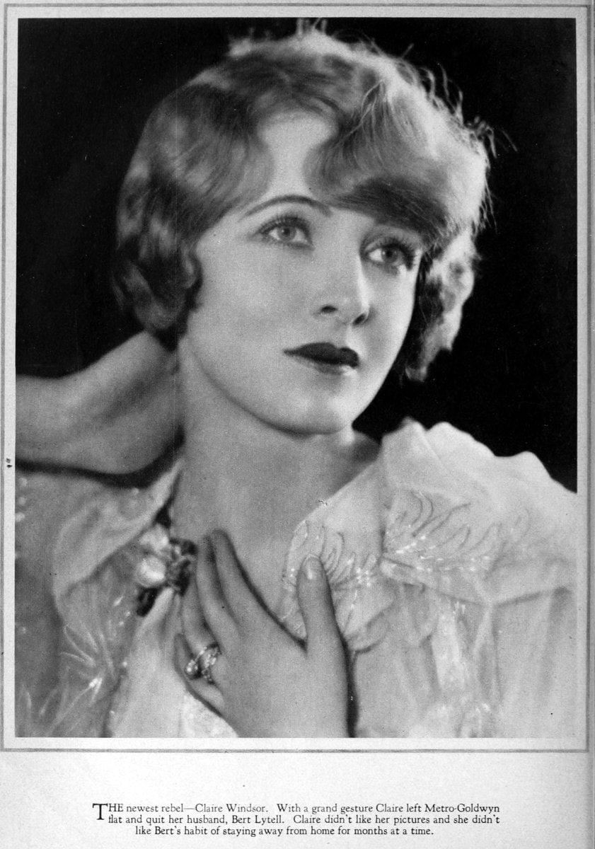 1927 Claire Windsor - rebel