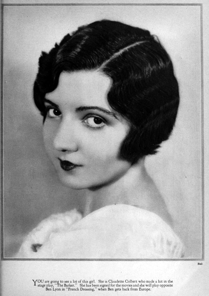 1927 Claudette Colbert debuts