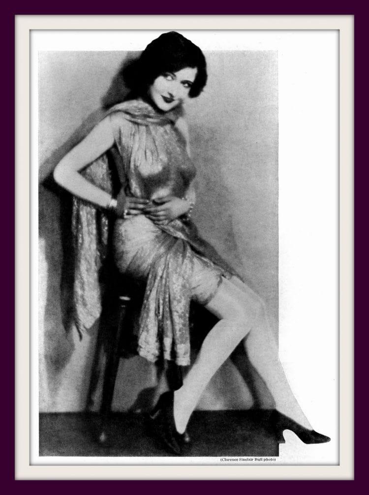 1927 Dorothy Sebastian of Alabama - vintage dresses from the roaring twenties
