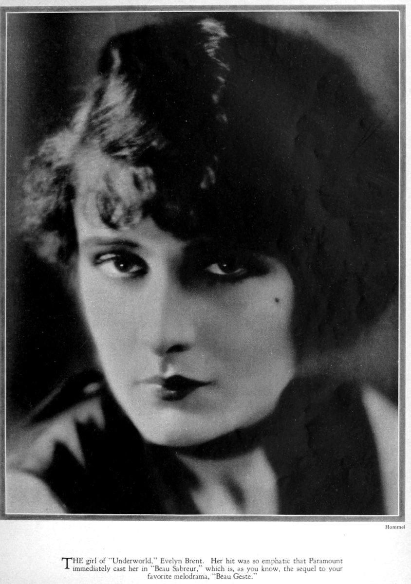 1927 Evelyn Brent