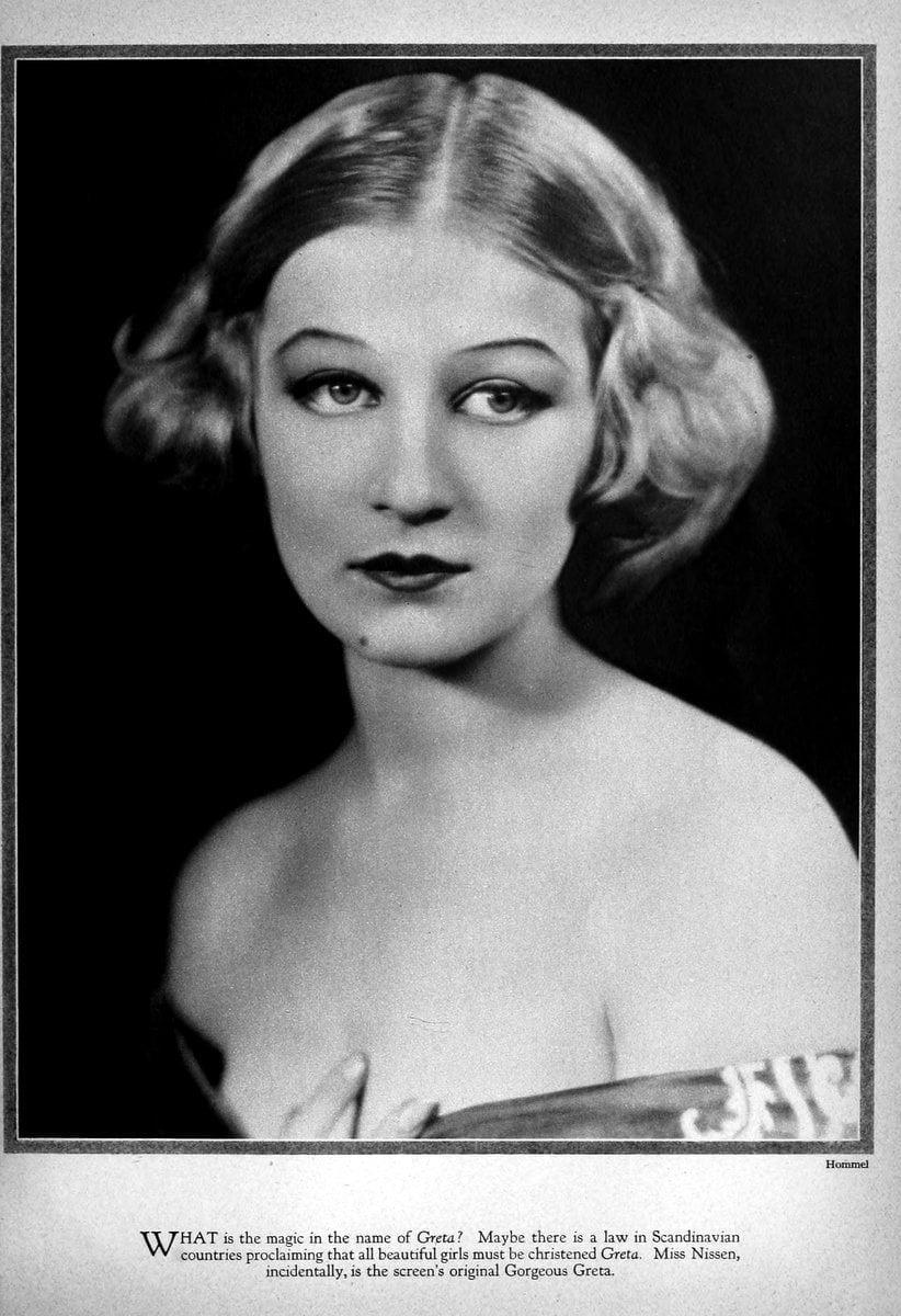 1927 Greta Nissen