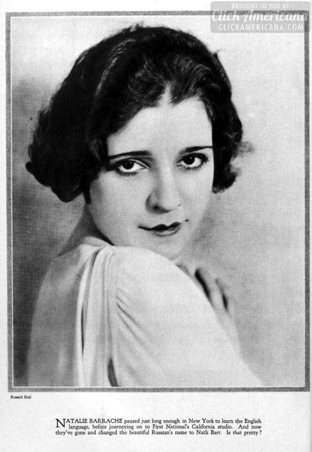 1927: Natalie Barrache - Natli Barr