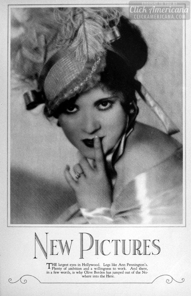 1927: Olive Borden