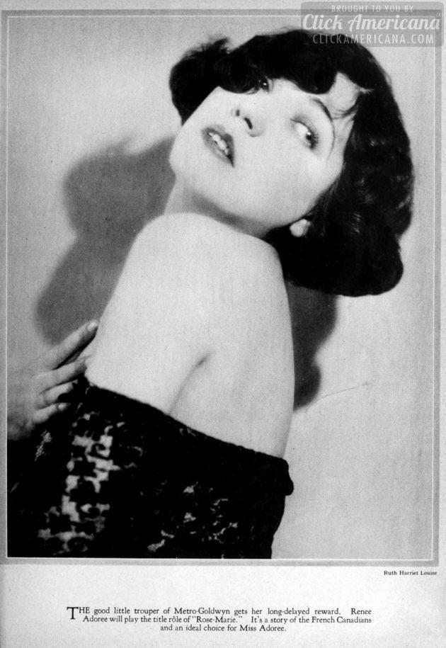 1927: Renee Adoree