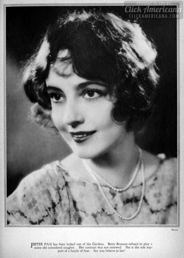 1928: Betty Bronson
