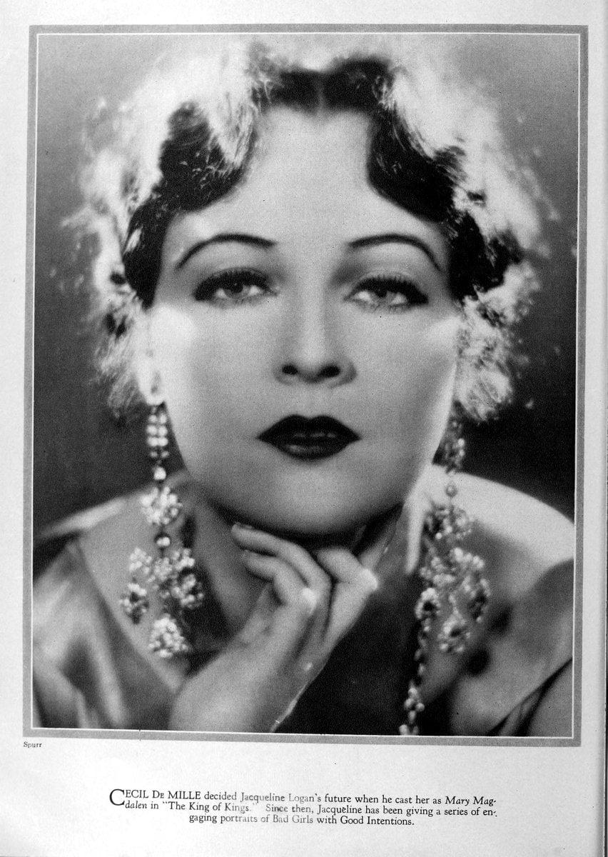 1928 Jacqueline Logan