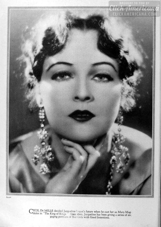 1928: Jacqueline Logan