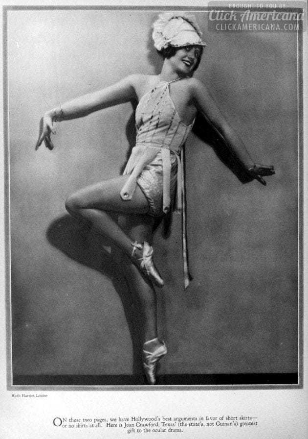 1928: Joan Crawford
