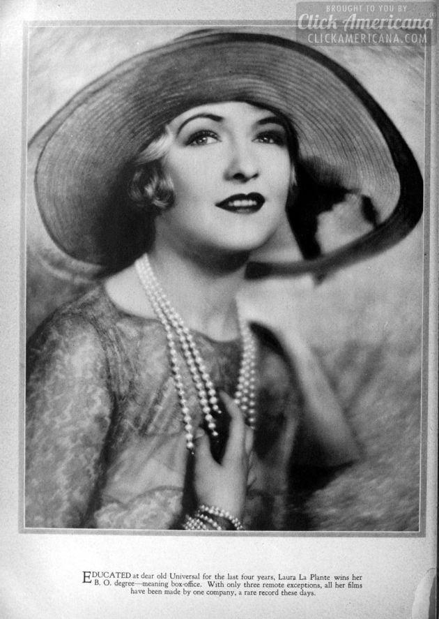 1928: Laura La Plante