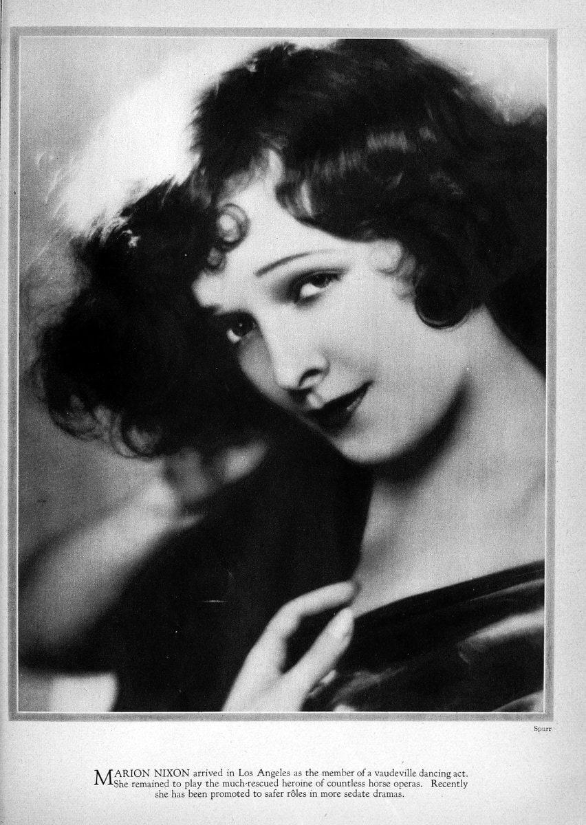 1928 Marion Nixon