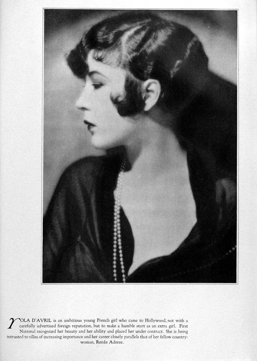 1928 Yola DAvril