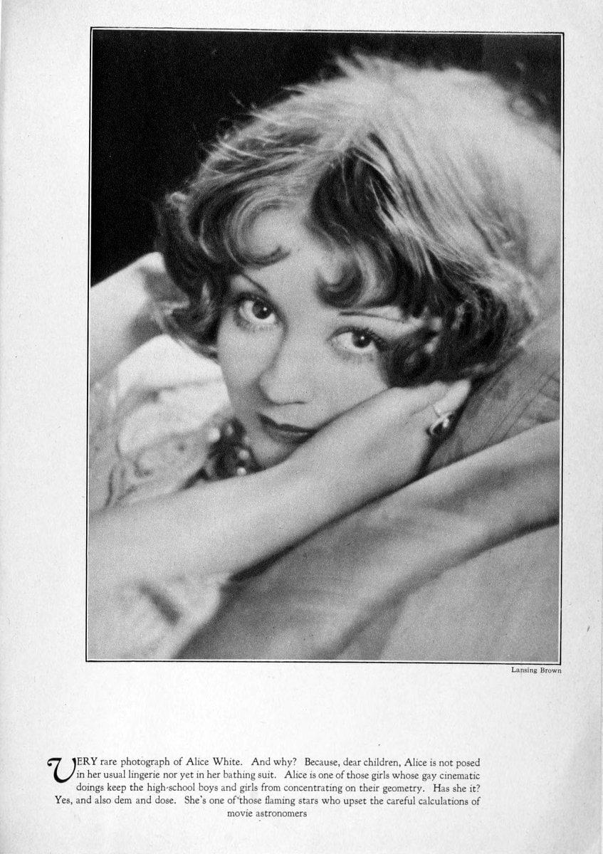 1929 Alice White