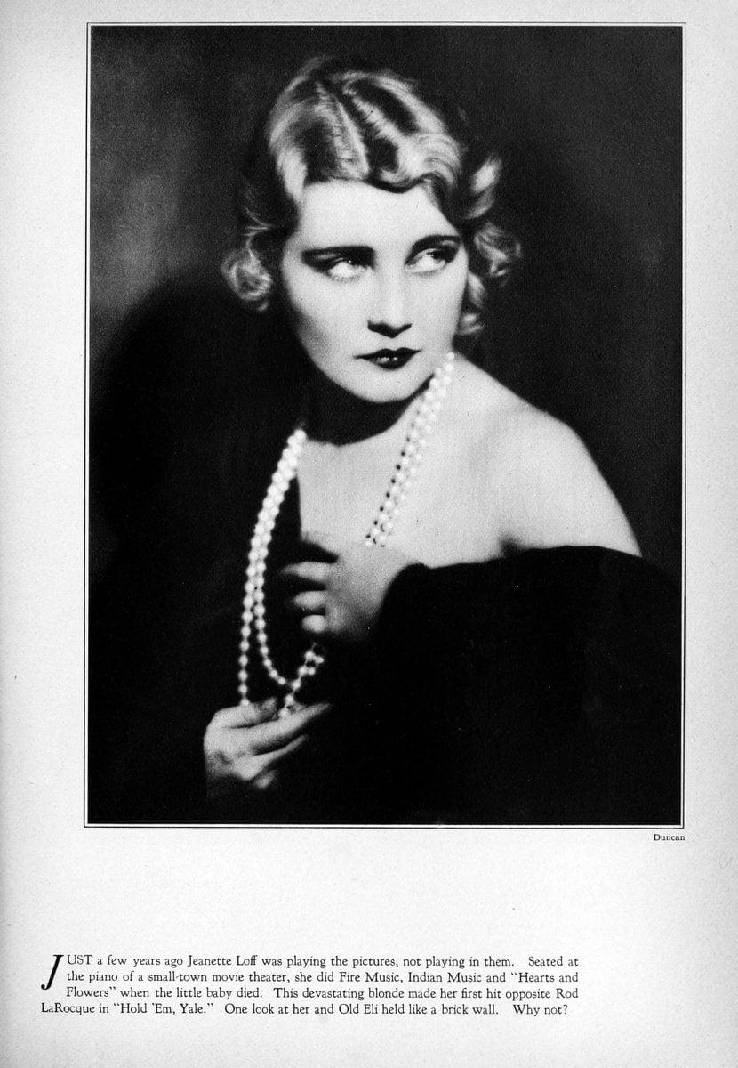 1929 Jeanette Loff