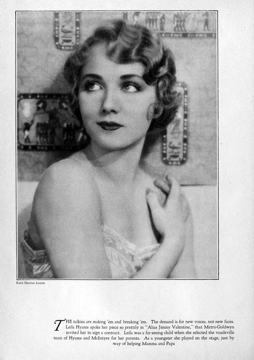 1929 Leila Hyams