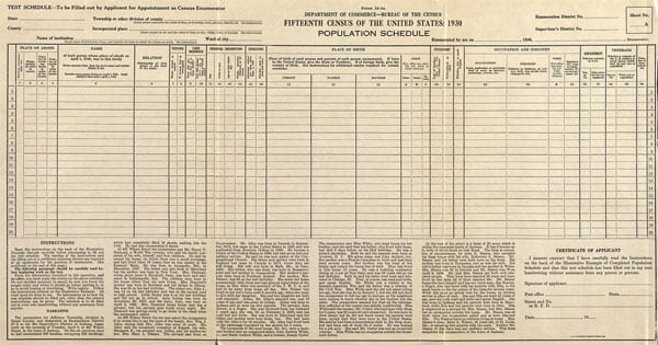 The 72 Year Wait Is Over See The 1940 Census Click