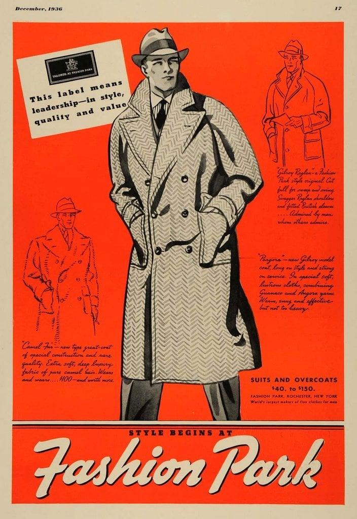 1930s Fashion Park suits for men (1)