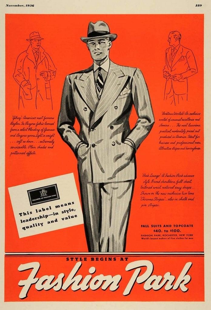 1930s Fashion Park suits for men (2)