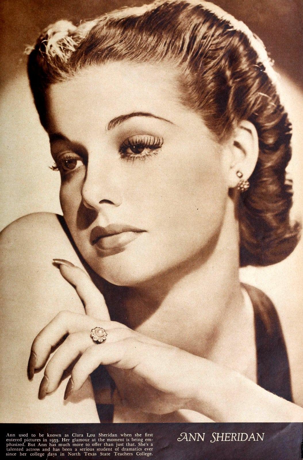 1930s actress Ann Sheridan