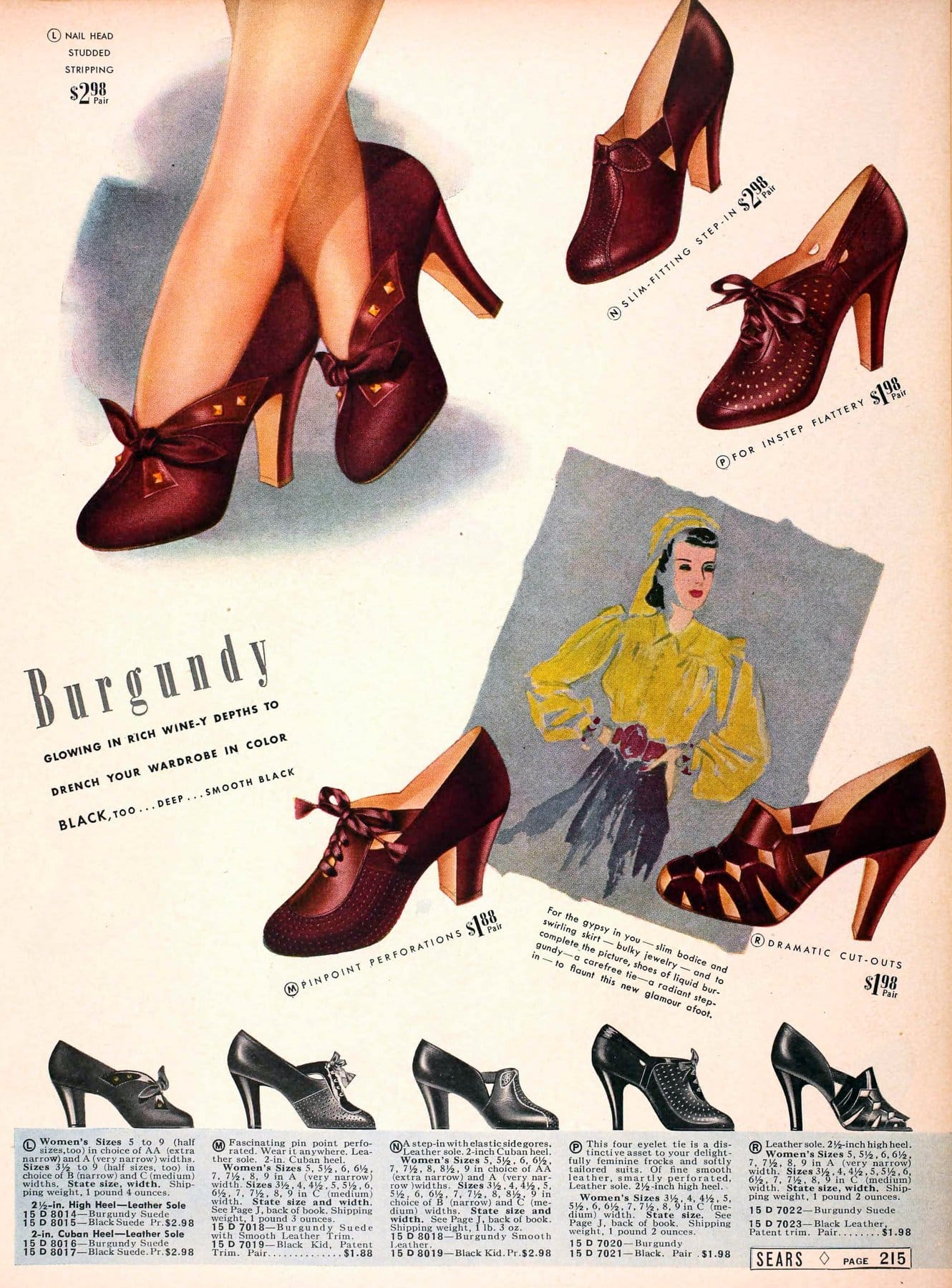1930s shoes for women from 1939 (4)