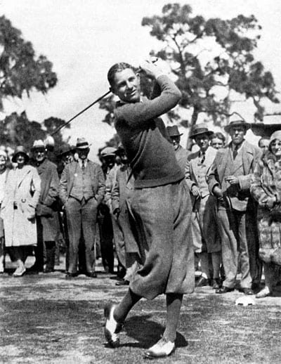 Horton Smith - first Masters golf tournament (1934)