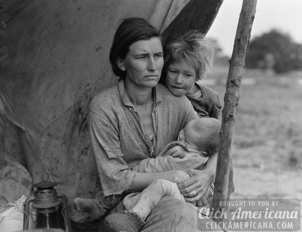 1936-Migrant agricultural worker family (4)