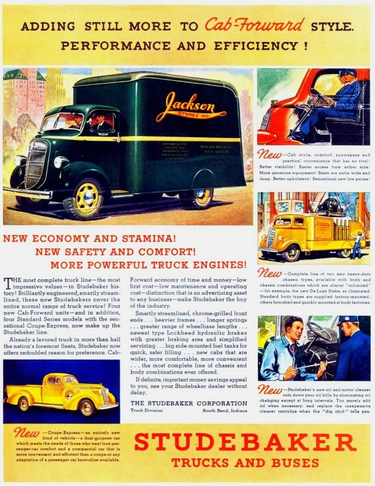 Adding still more to cab-forward style (1937)