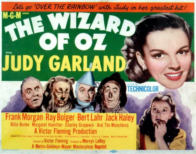 1939 Promo - Behind the scenes of The Wizard of Oz movie starring Judy Garland