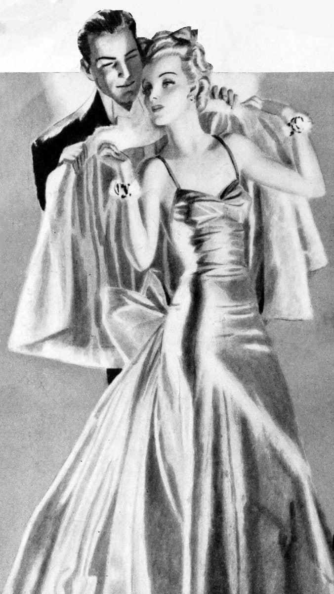 1939-glamorous woman