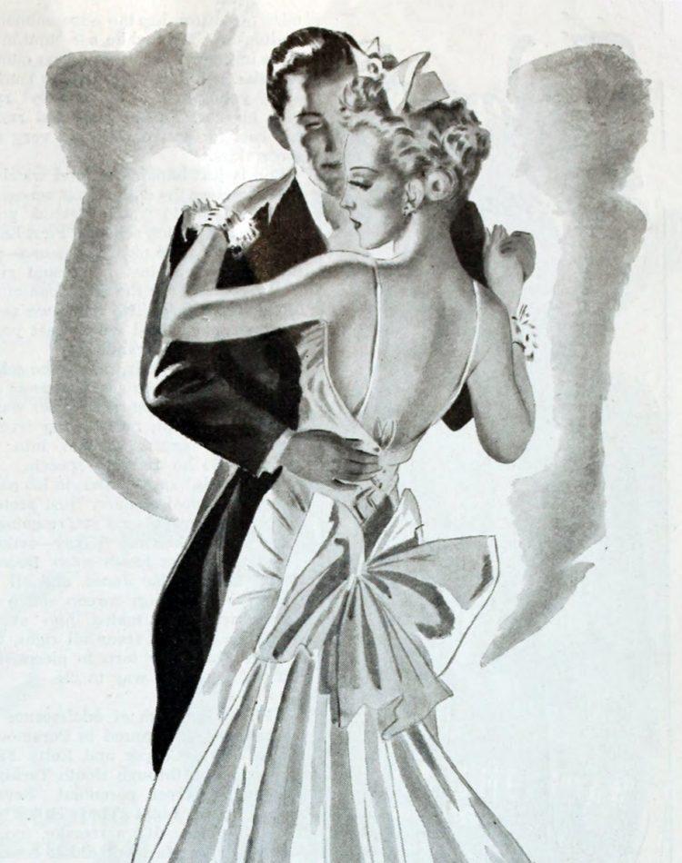 1939 - man and woman dancing