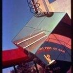 World's Fair 1939: Reflective cube near Gas Exhibit