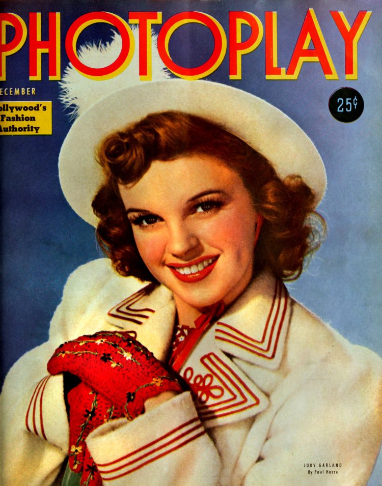 1940 Judy Garland cover Photoplay