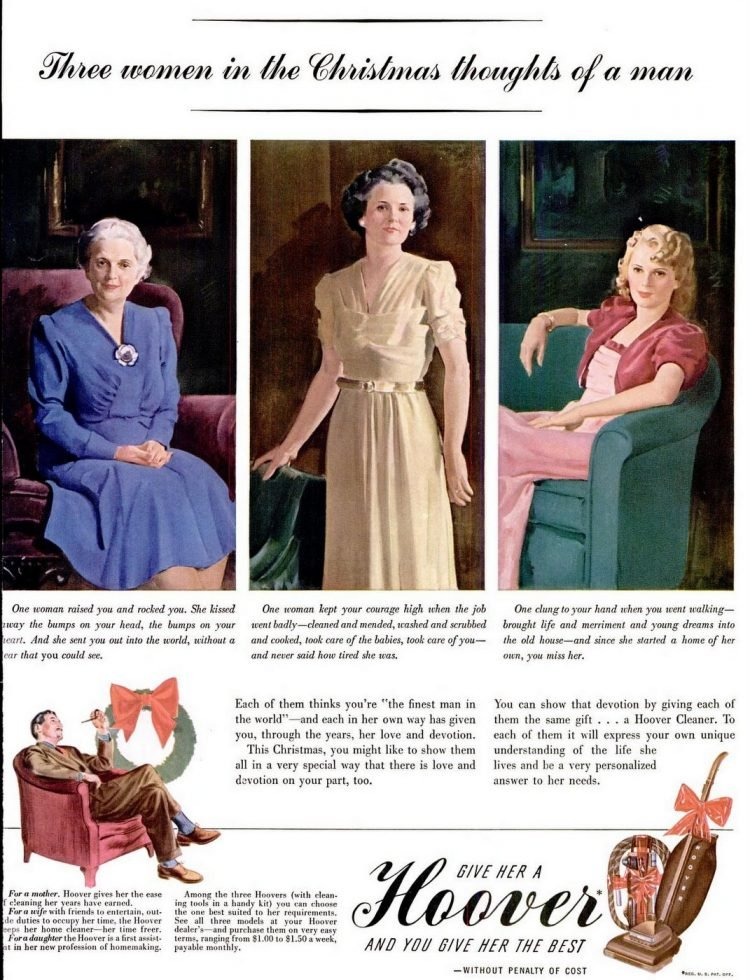 1940 Vacuums for Christmas for all the women in your life