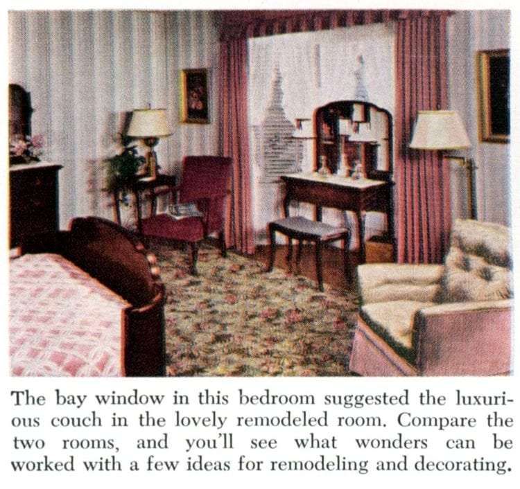 1940s bedroom design renovation - Decor Before