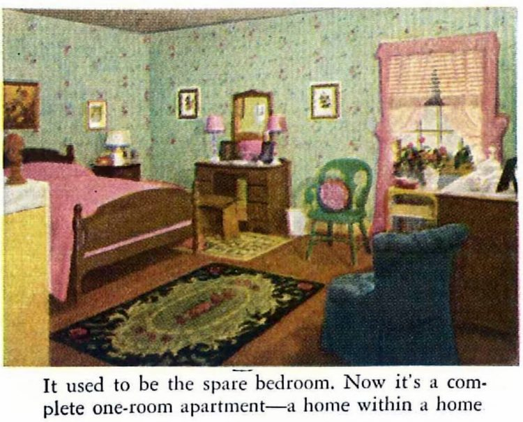 1940s bedroom remodel - Before