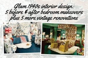 1940s interior design for bedrooms