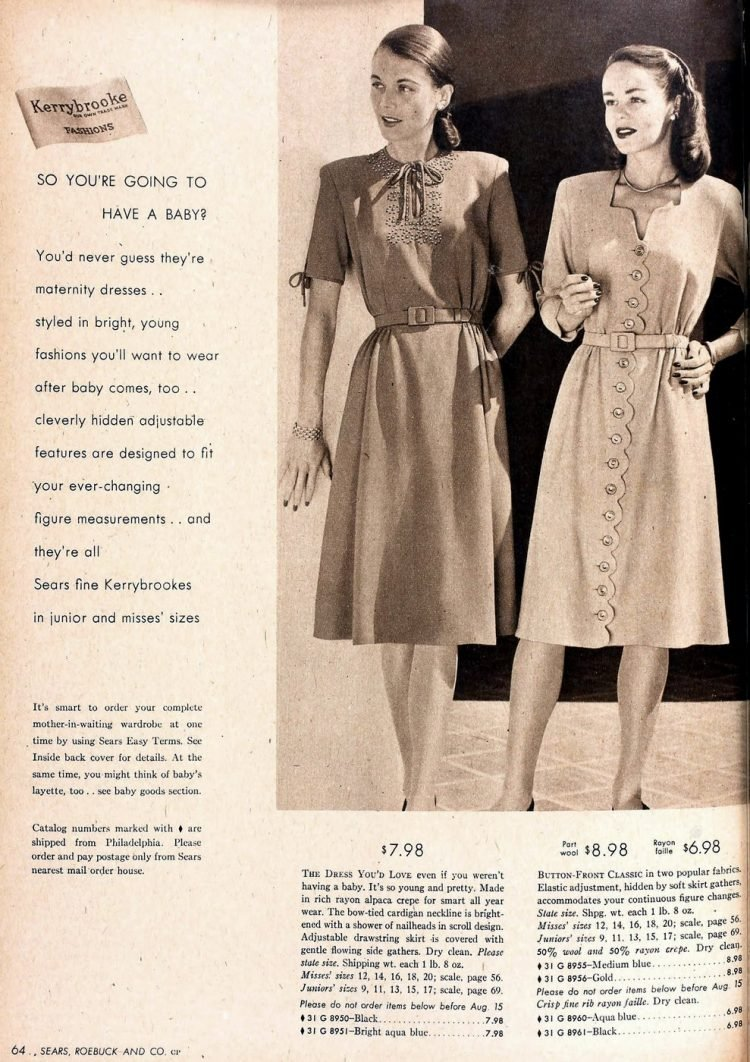 1940s maternity wear (3)