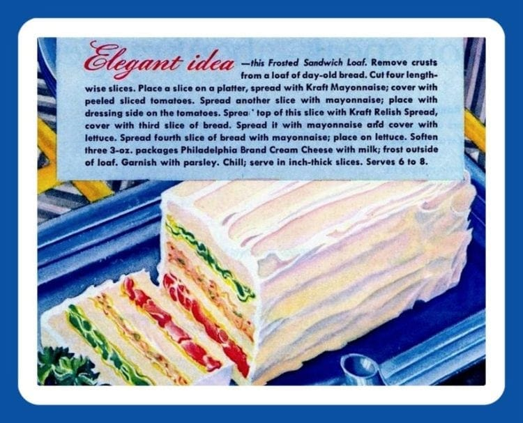 1940s sandwich loaf recipe