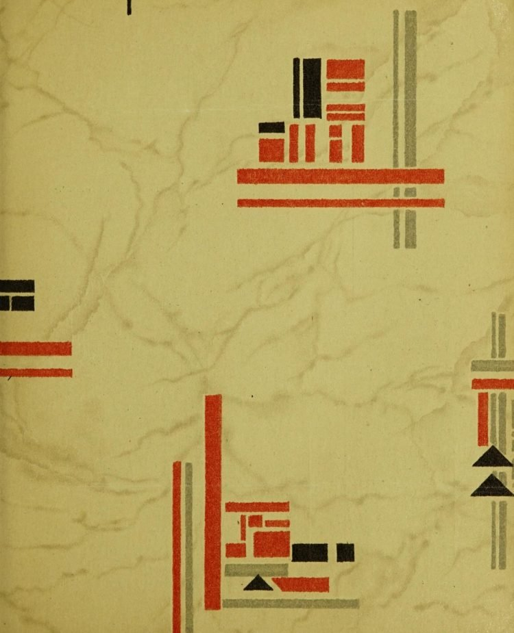 1940s vintage wallpaper from Ward's - 40s home decor (11)