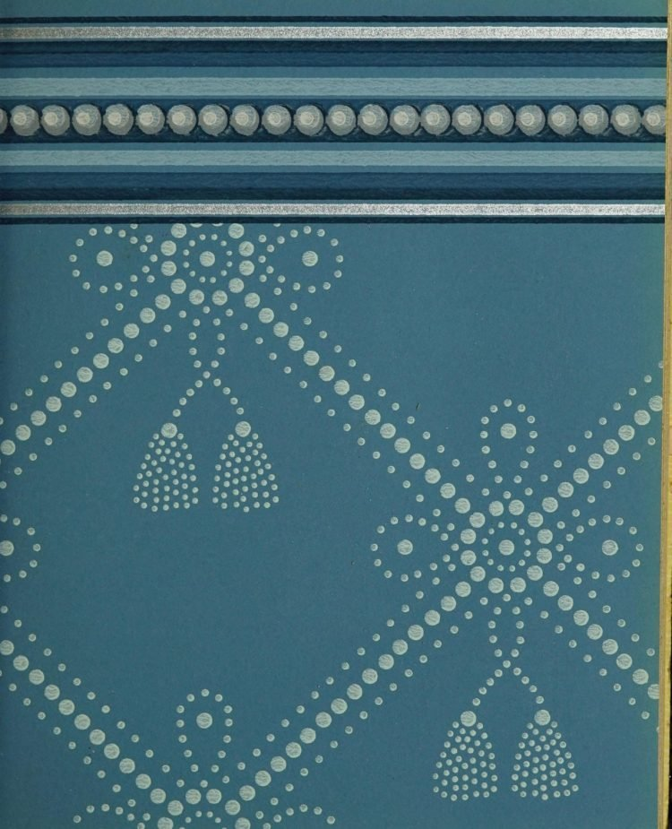 1940s vintage wallpaper from Ward's - 40s home decor (16)